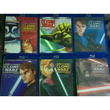 Star Wars The Clone Wars 1-2-3-4-5-6 Bluray