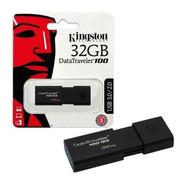 Pendrive Kingston 32 Gb Data Traveler 100 Usb 3.0