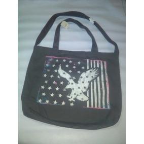 Bolsa Americab Eagle Original Color Gris