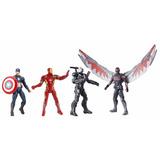 Set Civil War Capitan America Iron Man War Machine Legends