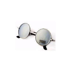 Óculos De Sol Hippie - John Lennon - Lente Espelhada. 36115c7c81