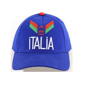324f8e79acac2 Gorras adidas Italia Original Mundial Futbol Ajustable Nueva