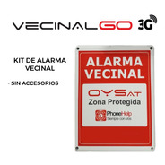 Kit Alarma Vecinal Comunitaria Vecinalgo 3g