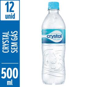 Água Mineral Sem Gás Crystal 500ml - 12 Unidades