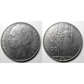 Moneda Republica Italiana L.100 Liras 1979