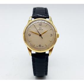 Reloj Omega Vintage Chapa De Oro Original Buen Estado