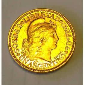 Lote 5 Pesos Argentino De Oro Años (5 Unidades) A Eleccion