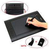 Tableta De Dibujo Grafica Huion H610 Pro Con Bolsa Y Guante
