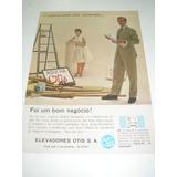 ( L - 290/ P ) Propaganda Antiga Elevadores Otis # 3