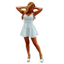 Vestido Corto Con Encaje.ideal Teens