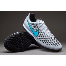 Tenis Nike Magista Onda Turf Liga Gris-azul Turqueza Jnr