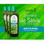 Shampoo Natural Sabila, Nogal Y Chile.