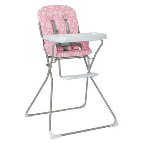Cadeira De Refeição Bambini (rosa Essencial) Tutti Baby