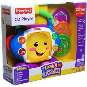 Fisher Cd Player Aprender E Brincar P5314 Mattel