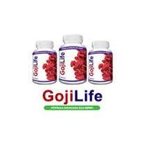 2 Goji Life = 120 Caps - Fórmula Avançada Gojiberry 50% Off