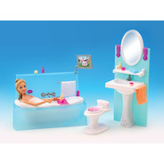 Gloria El Baño Lionels Muebles Para Muñeca Mundo Manias
