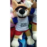 Peluche Zabivaka Mascota Del Mundial Rusia 2018 Muñeco