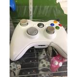 Control Xbox 360 Oficial Microsoft Todo Blanco