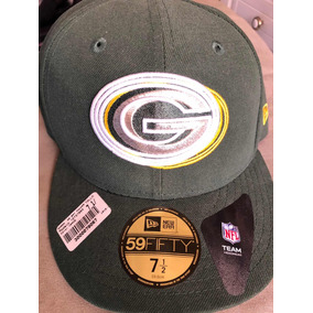 Remató Gorra New Era Green Bay Talla 7 1 2 Nueva 66252913b5d3