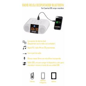 Radio Reloj Despertador Bluetooth Itrak
