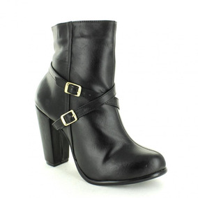 Botin Para Mujer Emilio Bazan Cr704-035371 Color Negro