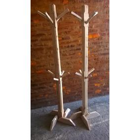 Perchero madera percheros en mercado libre argentina - Percheros de madera rusticos ...
