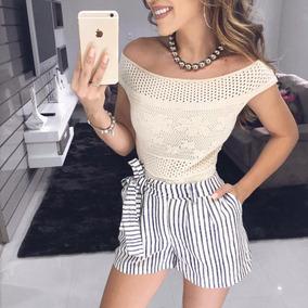 Body Feminino Bodi Modal Tricot Trico Ombro A Omb Lançamento