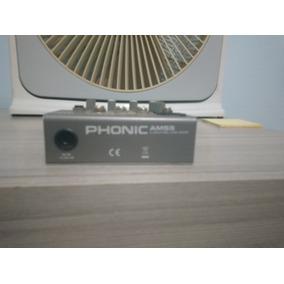Mesa De Son Phonic Am55 Usado