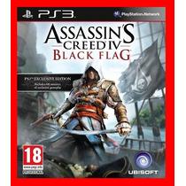 Assassins Creed 4 Black Flag - Ac4 - Dublado Pt Br Ps3 Psn
