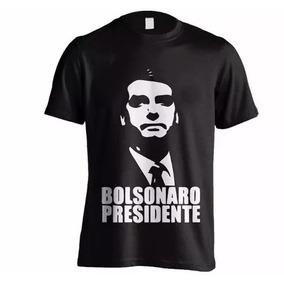 Camisa Bolsonaro Presidente - Várias Cores