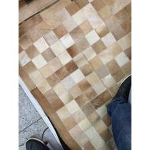 Tapete De Couro Bege 1,50x2,00 Com Bordas