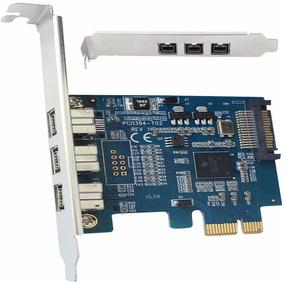 Placa Pci Express A 3 Firewire 800 Pci-e X1 A Firewire 1394b