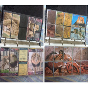 Coleção 1138 Cartões Tigres E Leões Em Séries Fechadas China