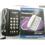 Telefono Fijo Panaphone Kxt-3014 De Mesa, Para Linea Cantv