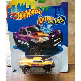 Hot Wheels - Mega Duty Truck - Cambia De Color Con Agua