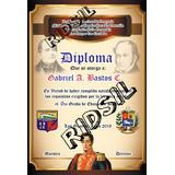 Diploma Y Medalla De Graduacion Preescolar Y 6to Grado