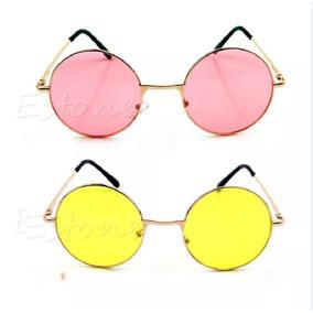 Mandalas Coloridas Redondas De Sol - Óculos no Mercado Livre Brasil cec3f92cf2