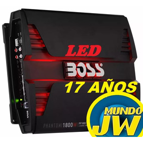 Potencia Boss 1800 Watt 4 Canales Puenteable Control Woofer