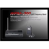 Sistema Inalambrico Monitoreo Takstar Wpm-200 Contado!!!