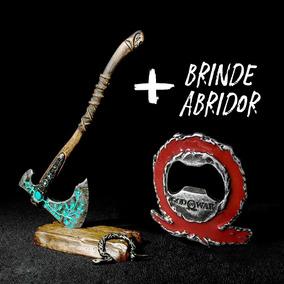 Machado Kratos God Of War Metal Colecionável + Brinde