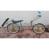 Bicicleta Cromada Low Rider + Llanta De Refaccion Esta Nueva