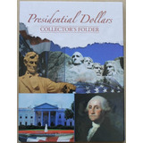 Album Grande Clasificador Para Monedas De Dolar Presidentes