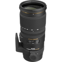 Sigma 70-200mm F / 2.8 Ex Dg Apo Os Hsm - Nikon + Rec. Venda