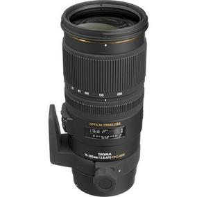 Sigma 70-200mm F / 2.8 Ex Dg Apo Os Hsm - Canon + Rec. Venda
