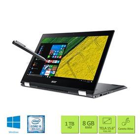 Notebook 2 Em 1 Acer Sp515-51n-50by Intel Core I5 8ª Geracao