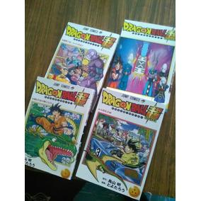 Manga De Dragon Ball Super En Español Son Los 4 Primeros Tom