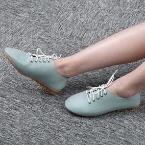 Vintage Lady Plana Casual Los Zapatos Calzado Nursers