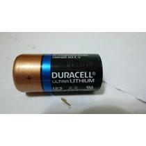 Bateria Pilha Dl123a Duracell Ultra Lithium Cr123a