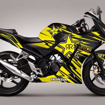 Honda ,cbr 250, Stickers,decals,calcamonias