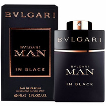 Perfume Bulgari Man In Black 100ml Edp - Original Lacrado